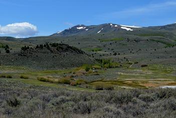 Hot Springs Campground at Hart Mountain Antelope Refuge
