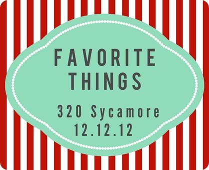 favorite things 2012