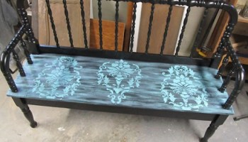 Prime Jenny Lind Bed Bench My Repurposed Life Rescue Re Imagine Ocoug Best Dining Table And Chair Ideas Images Ocougorg