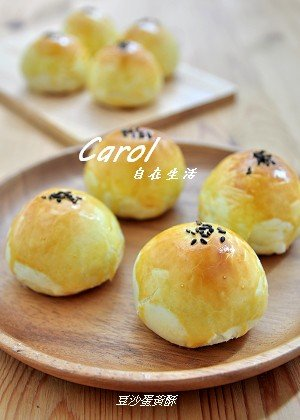 Carol 自在生活 : 蛋黃酥。Yolk Pastry - 實作影片