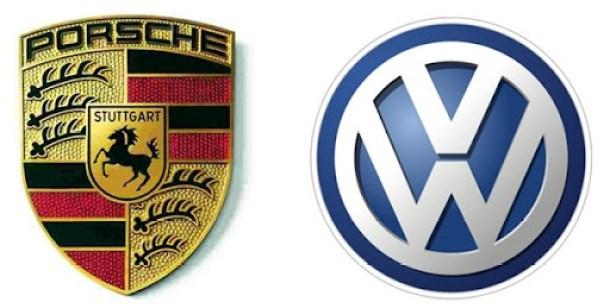Porsche-Volkswagen-logos