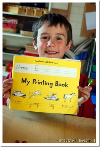 HWOT: My Printing Book