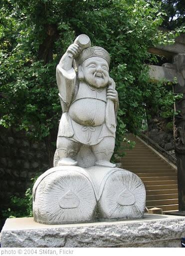 'Daikokuten at Shinagawa Shrine' photo (c) 2004, Stéfan - license: http://creativecommons.org/licenses/by-sa/2.0/