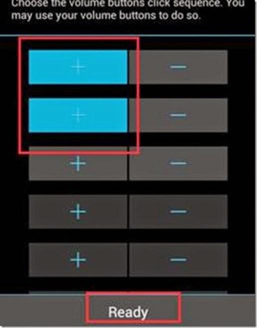 fungsi baru di tombol volume android