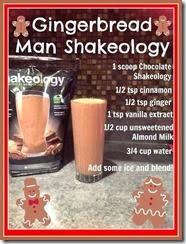 gingerbread shakeology