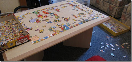 Simpsons 750 piece jigsaw puzzle