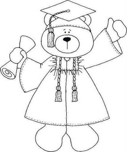 Free graduation class of 2015 coloring pages