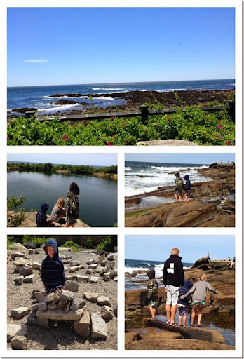 Halibut Point state park Collage