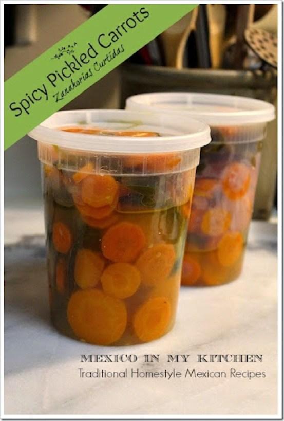 Pickled Carrots Zanahorias en Vinagre1