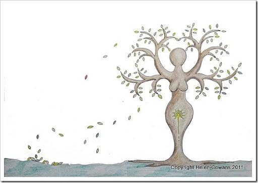 Tree of Life goddess