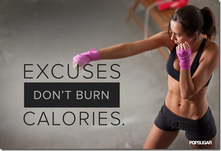 exercise excuses