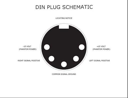 wiring a din plug wiring