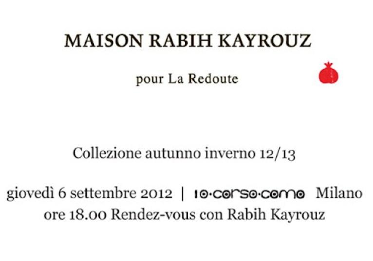 Invito MRK pour La Redoute