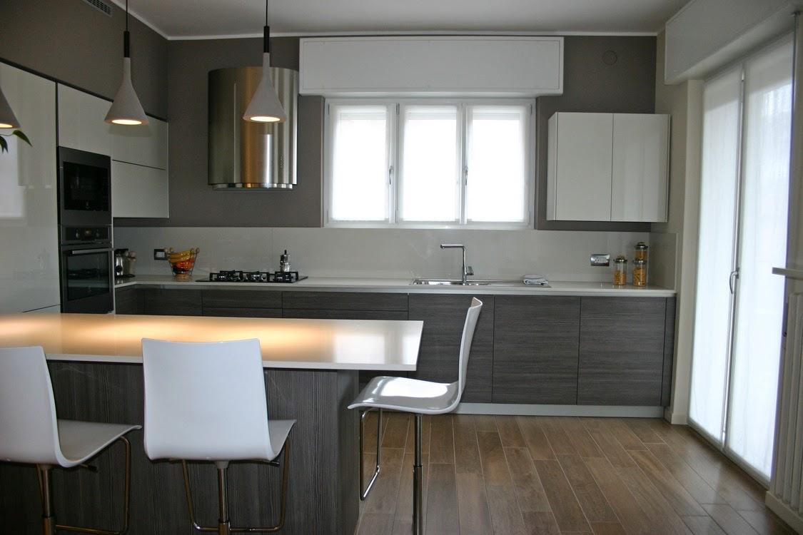 cucina Snaidero a Bergamo mod Way con penisola