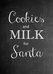 It's Overflowing - Cookies & Milk for Santa