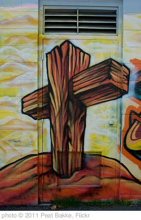 'Gospel Graffiti I' photo (c) 2011, Peat Bakke - license: http://creativecommons.org/licenses/by/2.0/