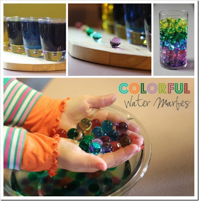 Growing {Colorful} Water Marbles | | Simply Bloom