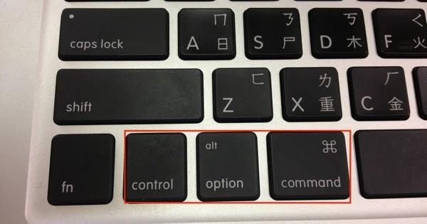 YY部落: windows 鍵盤用在 mac 電腦上