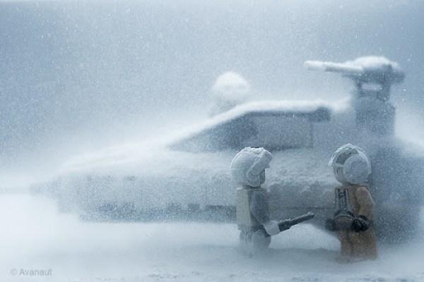 LEGO Star Wars Snowspeeder