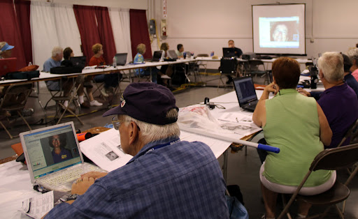 And a Hands-on Picasa Photo Editing Class at FMCA Rally in Indianapolis