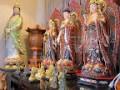 多元化多種類-大小尺寸-神明佛像-手繪古彩極彩-木製銅製冷陶神明佛像