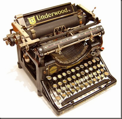 UnderwoodTypewriter