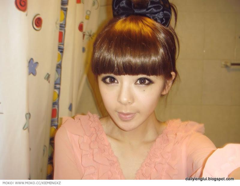 Girl Shoping & Fashion: Xie Meng 謝夢 from Beijing. China - Lenglui #190