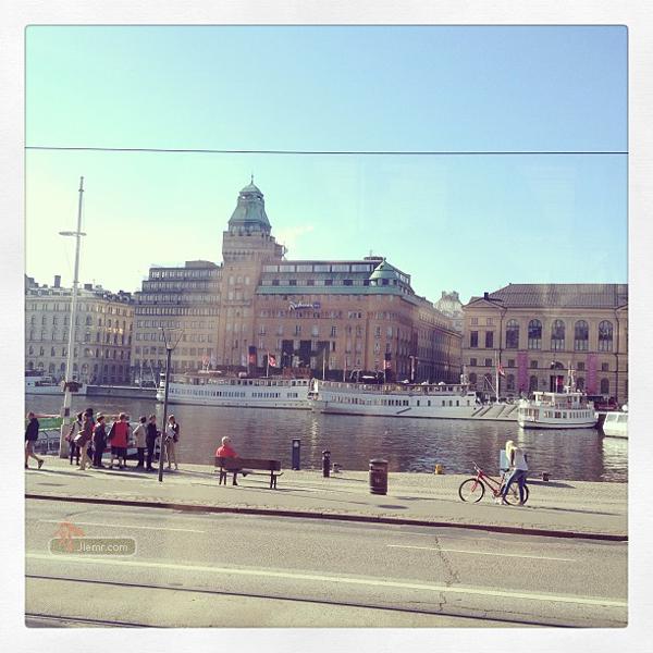 瑞典。斯德哥爾摩。市區