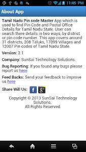 Tamil Nadu Pin Code Master screenshot 5