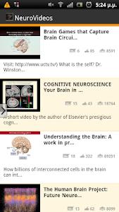 NeuroVideos screenshot 2