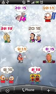 Daily Cartoon002 LWP & Clock screenshot 5