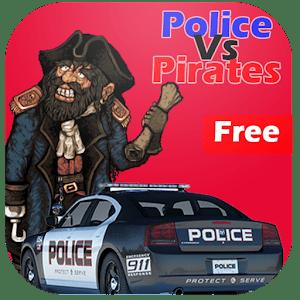 Police Vs Pirates : Car Game