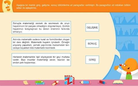 Türkçe 5 KOZA Z-Kitap screenshot 0