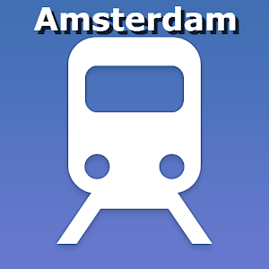Amsterdam public transport map