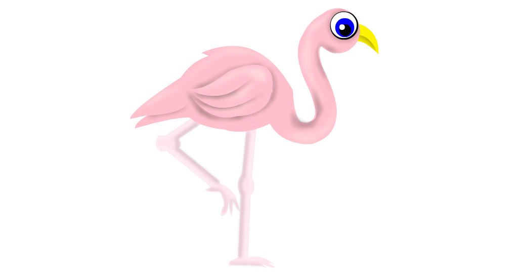 pink flamingo drawings sketchport