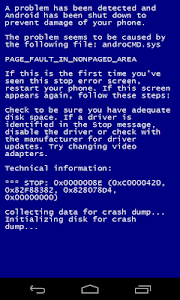 Blue Screen screenshot 2