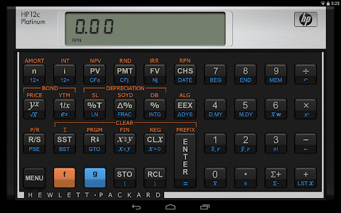 HP 12C Platinum Calculator screenshot 6