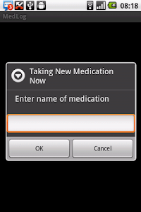 Medication Log screenshot 0