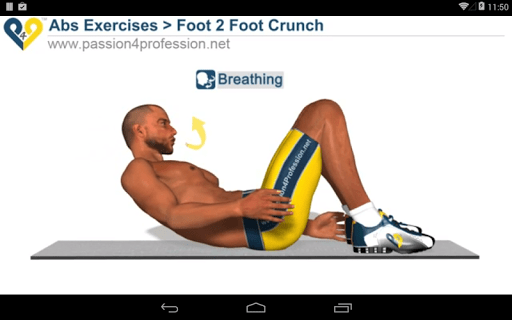 8 Minutes Abs Workout screenshot 18