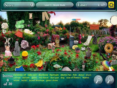 Hidden Objects Secret Gardens! screenshot 7