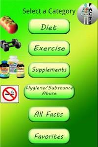 Healthy Facts screenshot 0