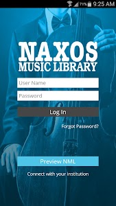 Naxos Music Library screenshot 0