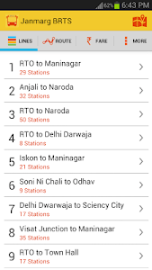Janmarg BRTS Ahmedabad screenshot 1