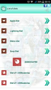 BMI Ideal weight and calories screenshot 21