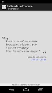 La Fontaine Audio - Célèbres 1 screenshot 0