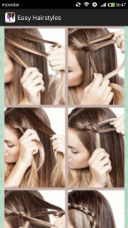 easy hairstyles step