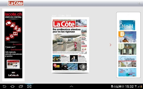 La Côte journal screenshot 7