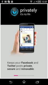 Privately App screenshot 0