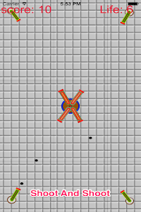 Crash Cannon Ball Shooting War screenshot 1