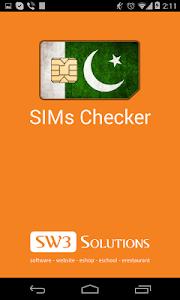 SIMs Checker screenshot 0